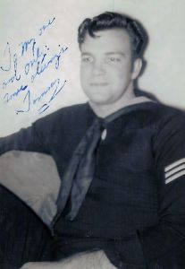 Tom was a navy boy