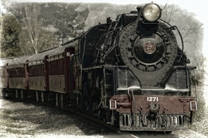 train, locomotive