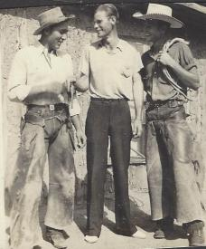 My Great-Uncles! The guy in the middle is Goldie's husband, Dick.